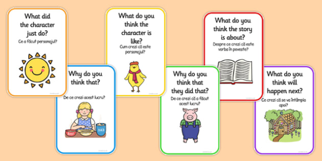 Reading Prompts for Parents Romanian Translation - romanian, reading prompts, parents, reading