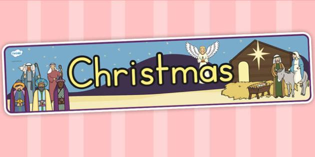 Australia Christmas Display Banner - christmas, display banner, banner