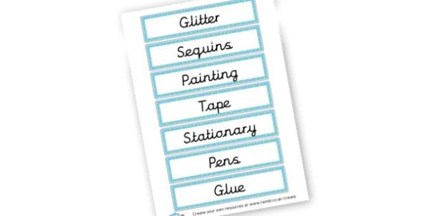 Resource Labels