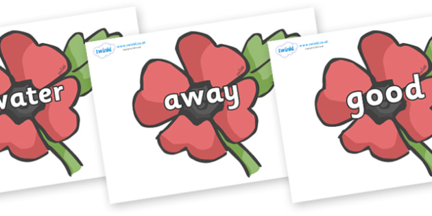 Next 200 Common Words on Poppies - Next 200 Common Words on  - DfES Letters and Sounds, Letters and Sounds, Letters and sounds words, Common words, 200 common words