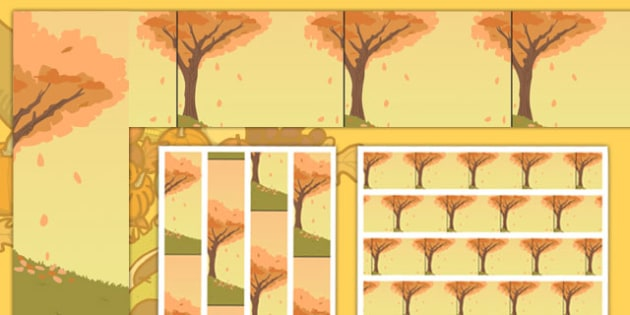 Autumn Season Display Borders - autumn, seasons, weather, borders