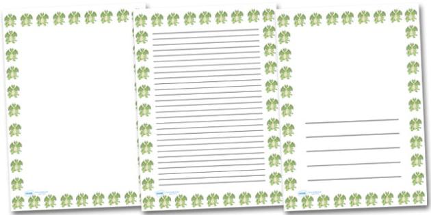 Happy Dragon Portrait Page Borders- Portrait Page Borders - Page border, border, writing template, writing aid, writing frame, a4 border, template, templates, landscape
