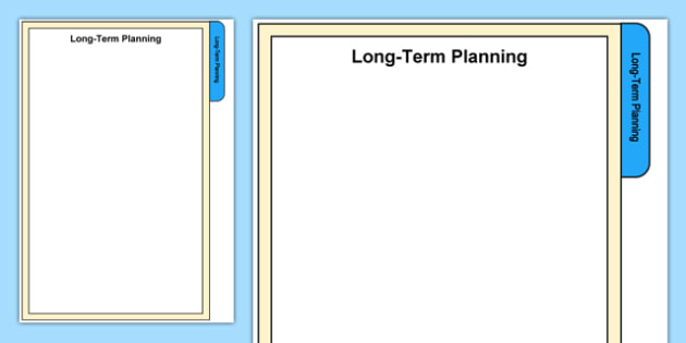 Foundation Phase Long Term Planning Tab A4 Display Poster-Welsh