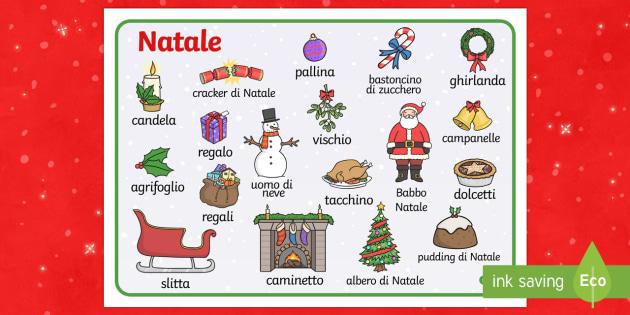Natale Vocabolario Illustrato - natale Vocabolario Illustrato, Vocabolario, Illustrato, Natale, feste, festivita', buon Natale, nat