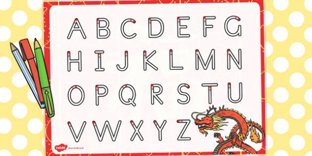 Chinese New Year Themed Letter Writing Worksheet - australia