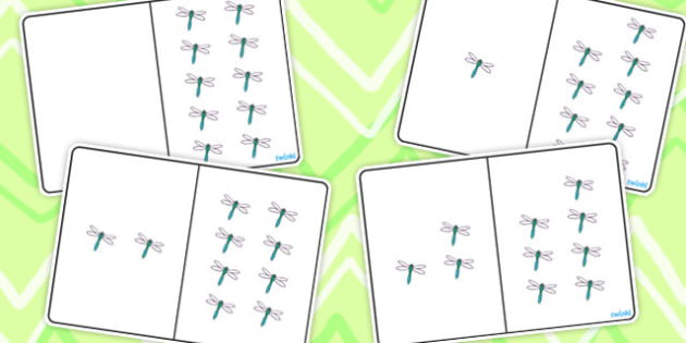 Dragonfly Counting Number Bonds to 10 - number, bonds, counting