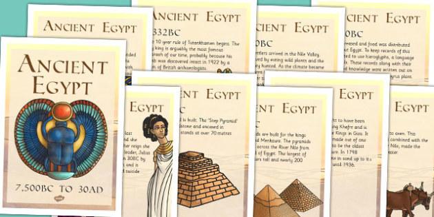Ancient Egypt Timeline Posters - ancient egypt, egypt, timeline