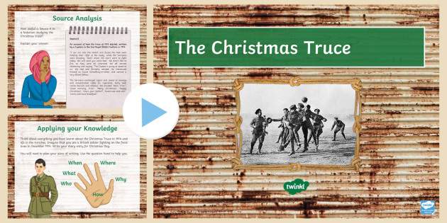 The Christmas Truce Lesson 2 PowerPoint