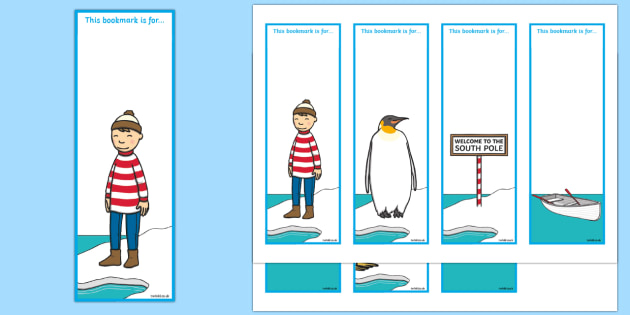 Editable Bookmarks to Support Teaching on Lost and Found - lost and found, bookmarks