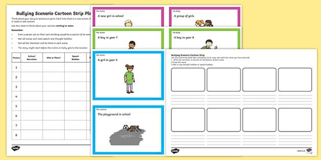 Anti Bullying Week Bullying Scenario Cards and Activities