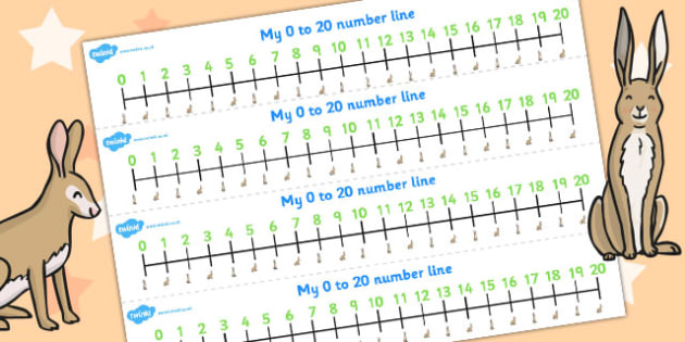 How Much Do I Love You Number Lines 0 20 - Much, Love, Number