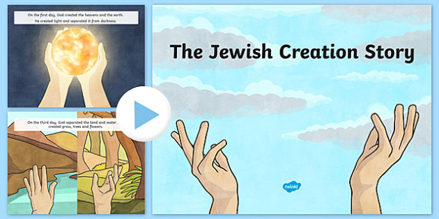 Jewish Creation Story PowerPoint - jewish, creation story, judaism, powerpoint