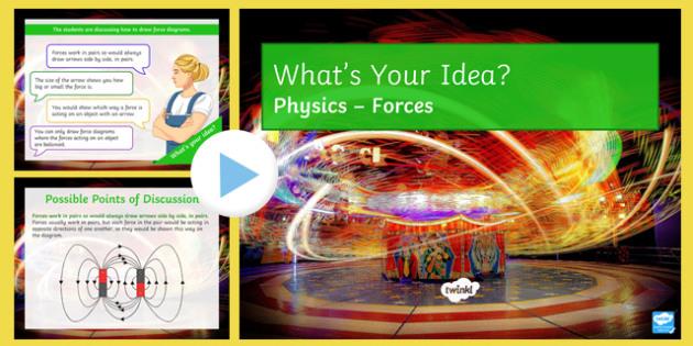 KS3 Forces What's Your Idea? PowerPoint
