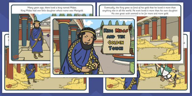 King Midas Story - king midas, king, midas, story, myth, legend