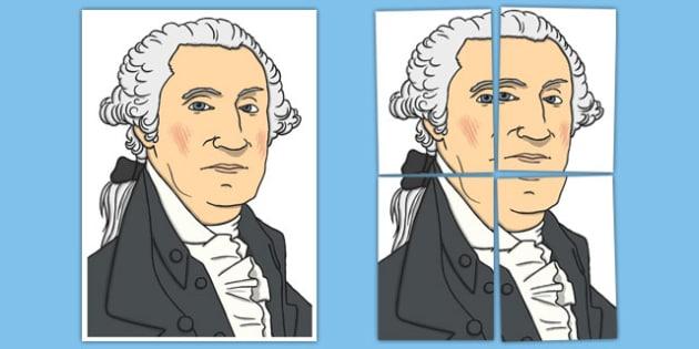 George Washington Display Cut Out - usa, presidents day, celebration, federal, display, cut out, george washington