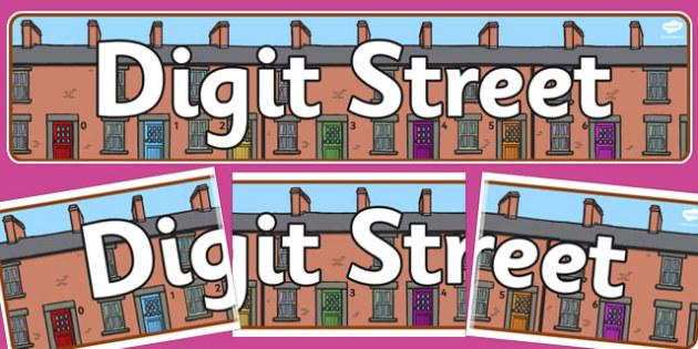 Digit Street Display Banner - digit street, display, banner
