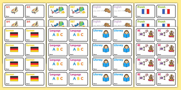 KS1 Book Labels - Book label, label, key stage 1, key stage one, subject labels, exercise book, workbook labels, textbook labels
