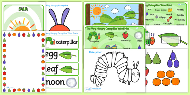 Resource Pack to Support Teaching on The Very Hungry Caterpillar - the very hungry caterpillar, resource pack, pack of resources, the very hungry caterpillar resources, resources