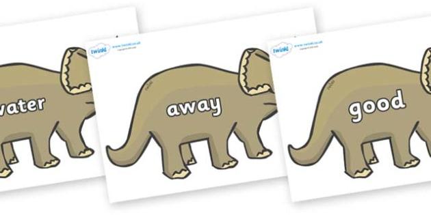Next 200 Common Words on Triceratops - Next 200 Common Words on  - DfES Letters and Sounds, Letters and Sounds, Letters and sounds words, Common words, 200 common words