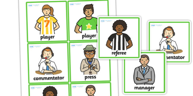 Football World Cup Role Play Name Badges - football, world cup
