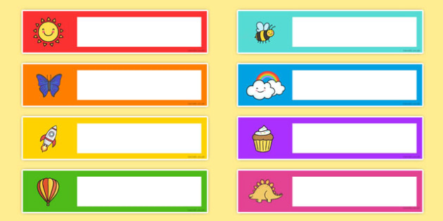 Mixed Images Themed Gratnells Tray Labels - tray labels, editable