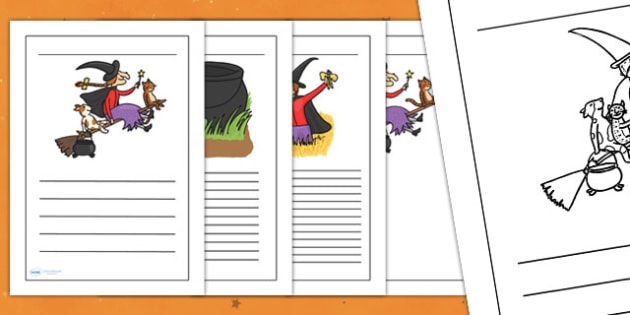 Writing Frames to Support Teaching on Room on the Broom - room on the broom, writing frames, writing guides, writing templates, writing aid, line guide, guides, writing, template