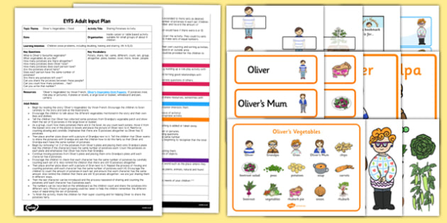 EYFS Sharing Potatoes Activity Adult Input Plan and Resource Pack