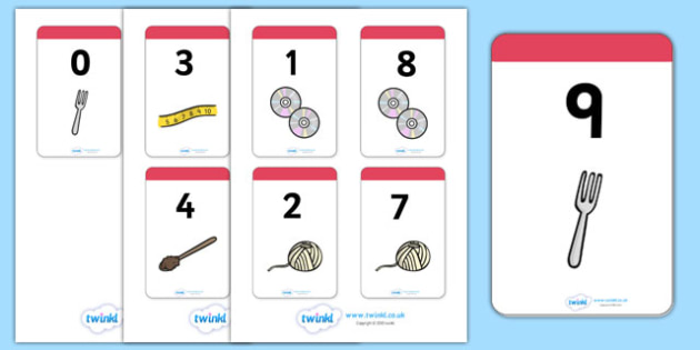 Number Bonds to 9 Matching Cards (Everyday Items) - Number Bonds, Matching Cards, Everyday Item Cards, Number Bonds to 9