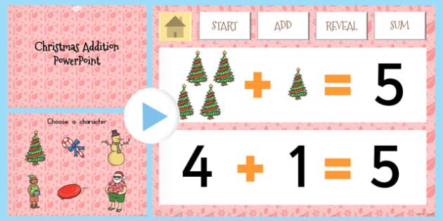 Christmas Addition PowerPoint - australia, christmas, addition