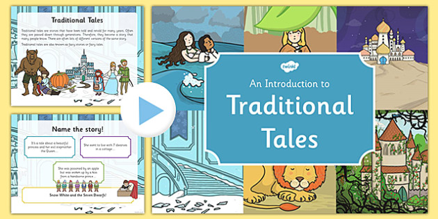 Introduction to Traditional Tales PowerPoint