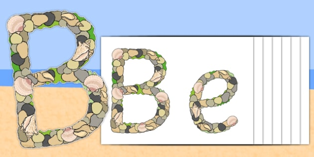 Beachcombers Display Lettering - beachcombers, display lettering, display, lettering, letters
