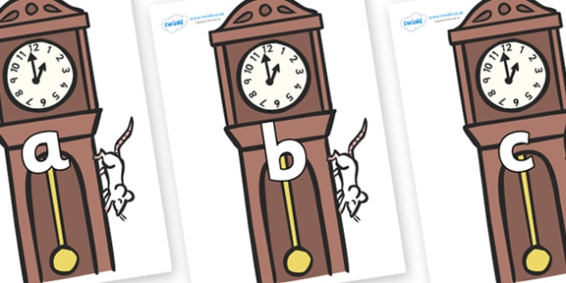Phase 2 Phonemes on Clocks - Phonemes, phoneme, Phase 2, Phase two, Foundation, Literacy, Letters and Sounds, DfES, display
