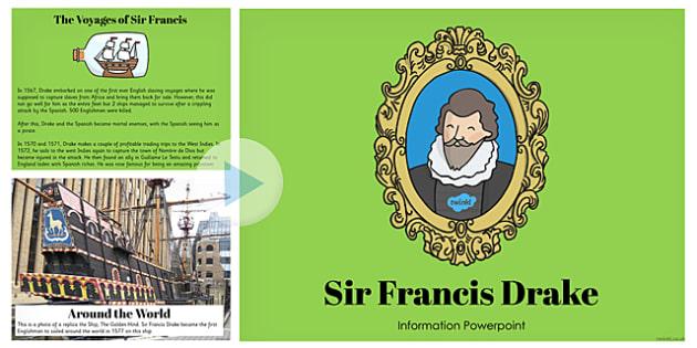 Sir Francis Drake Information PowerPoint - information, drake