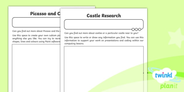 PlanIt - Computing Year 2 - Using and Applying Home Learning Tasks