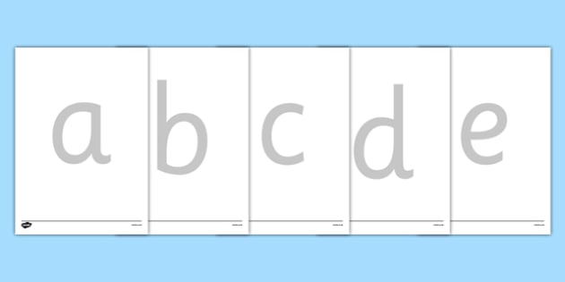 Large A-Z Tracing Letters - tracing letters, handwriting, letter formation, writing practice, foundation, letters, writing, learning to write, DFES letters and sounds