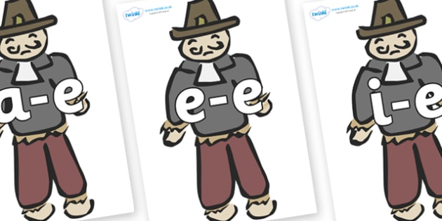 Modifying E Letters on Guy Fawkes - Modifying E, letters, modify, Phase 5, Phase five, alternative spellings for phonemes, DfES letters and Sounds