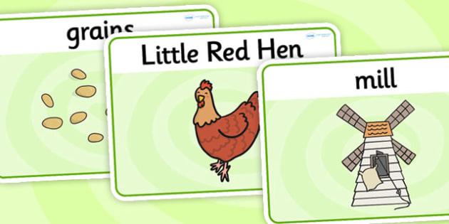 The Little Red Hen Basic Playdough Mats - the little red hen, little red hen playdough mats, little red hen sen playdough mats, sen play doh mats, sen mat