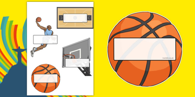 Rio 2016 Olympics Basketball Self-Registration - Basketball, Olympics, Olympic Games, sports, Olympic, London, 2012, Self registration, register, editable, labels, registration, child name label, printable labels, activity, Olympic torch, events, fla