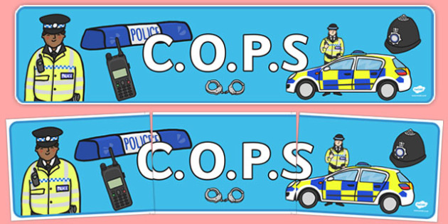 Cops Editing Strategy Police Display Banner - cops, editing, strategy, police, display, banner