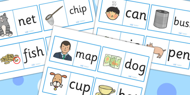 CVC Loop Cards - cvc, loop cards, loop, cards, activity, game