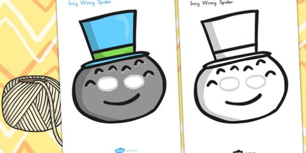 Incy Wincy Spider Role Play Masks - Australia, Incy, Wincy, Role