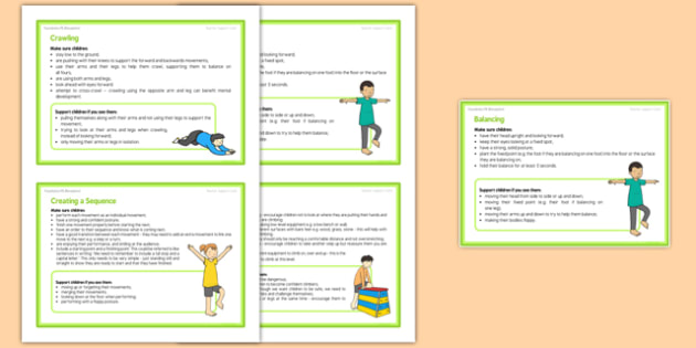 Foundation PE (Reception) - Gymnastics - Gym in the Jungle Teacher Support Cards Pack - EYFS, PE, Physical Development, Planning