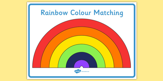 Rainbow Display Posters