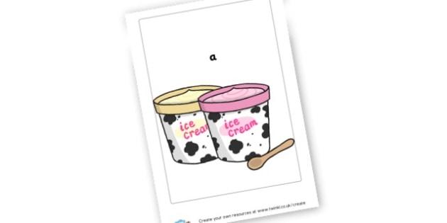 Ice Cream - Cinema Role Play Primary Resources, Cinema, Film, movie, popcorn