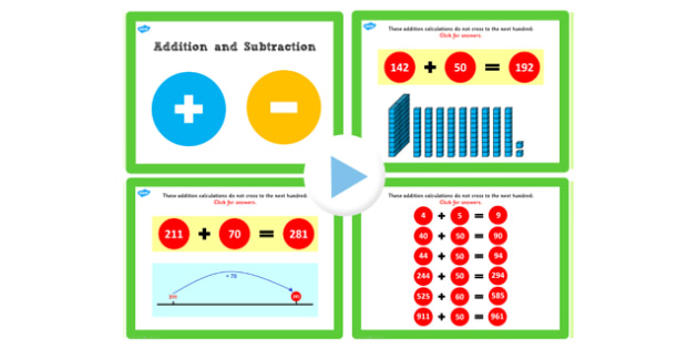 Y3 Addition and Subtraction Lesson 1c Adding Ten Not Crossing 100