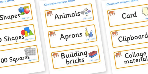 Tiger Themed Editable Classroom Resource Labels - Themed Label template, Resource Label, Name Labels, Editable Labels, Drawer Labels, KS1 Labels, Foundation Labels, Foundation Stage Labels, Teaching Labels, Resource Labels, Tray Labels, Printable lab