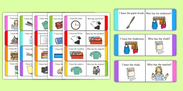 School Loop Cards - school, loop cards, loop, cards, activity