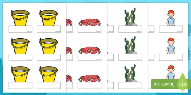 Sea Bucket Editable Self-Registration - billy's bucket, sea bucket, editable, edit, self-registration