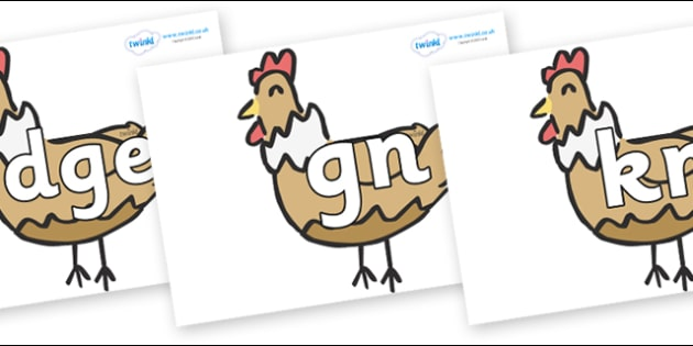Silent Letters on French Hens - Silent Letters, silent letter, letter blend, consonant, consonants, digraph, trigraph, A-Z letters, literacy, alphabet, letters, alternative sounds