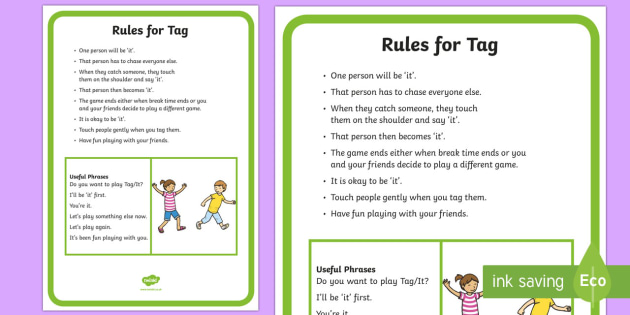 Tag Rules and Social Scripts